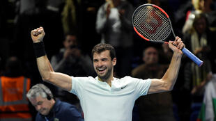 Grigor Dimitrov is playing in his first end of season championships.