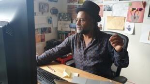 Le poète et éditeur Rodney Saint-Éloi.
