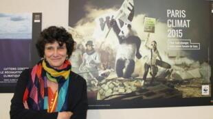 Isabelle Autissier et le WWF France plus que jamais à la pointe du combat contre le réchauffement climatique.