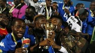 Em 2017, o vencedor da Taça das Confederações foi o clube congolês do TP Mazembe.