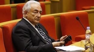 Доминик Стросс-Кан в сенатской комиссии 26/06/2013