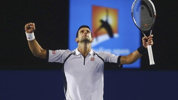 O sérvio Novak Djokovic venceu o tcheco Tomas Berdych e se classificou para a semi-final do aberto na Austrália.