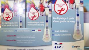 HIV DIY test kit, Autotest VIH