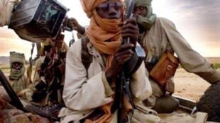 Combattants jihadistes au Mali (illustration)