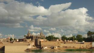 Mopti, ville du centre du Mali.
