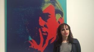 Ana Leorne, doutoranda portuguesa da Escola de Altos Estudos em Ciências Sociais, em Paris