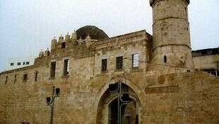 The medieval caravanserail of Khan Yunis in the southern Gaza Strip