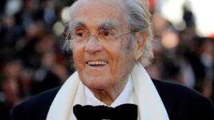 Michel Legrand, lors de la 70e édition du Festival de Cannes, le 17 mai 2017.