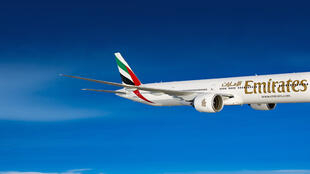 Voo mais longo do mundo é operado pela Emirates e tem a duração de 17 horas e 35 minutos.