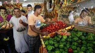 Shopping for groceries in Tripoli