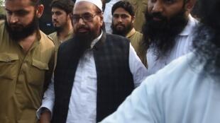 Les autorités pakistanaises ont arrêté Hafiz Saeed, fondateur du groupe Lashkar-e-Taiba. (photo de 2018).