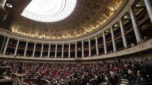 Séance à l'Assemblée nationale, à Paris. (photo d'archives)