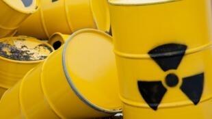 Déchets nucléaires (image d'illustration).