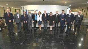 Representantes do Ministério Público de 11 países da América Latina e Europa em Brasília