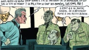 Les combattants cyber de l'état-major des armées sont décrits avec beaucoup d'autodérision par les scénaristes.