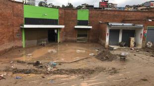 Urgencia por inundaciones en Mocoa, Colombia.