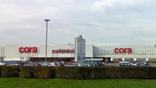 Cora's hypermarket at Mondelange