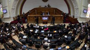 Último dia de inscrições de candidaturas para a Assembleia Constituinte, boicotada pelos opositores na Venezuela.