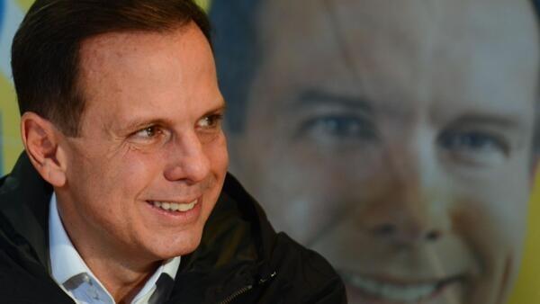 Prefeito eleito da capital paulista, João Doria, um dia após a eleição.