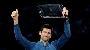 Novak Djokovic had been seeking his 33rd Masters title in Paris but lost in straight sets in the final to the unseeded Russian Karen Khachanov.