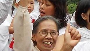 Cụ bà Lê Hiền Đức (ảnh : wikipedia)