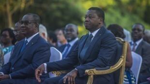 Les sept membres de la Cour constitutionnelle ont prêté serment devant le président togolais Faure Gnassingbé (image d'illustration)