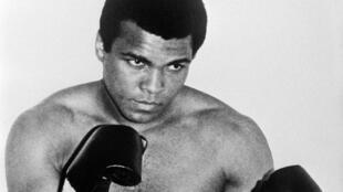 Mohamed Ali en 1960.