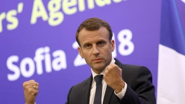 Presidente francês, Emmanuel Macron, não está disposto a ceder a ameaças comerciais de Donald Trump.