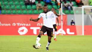 Le Ghanéen Thomas Partey lors de la CAN 2017.