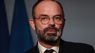 Primeiro-ministro, Édouard Philippe.