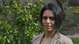 Andréa Darocha, presidente do Festival de Cinema Latino de Epernay.