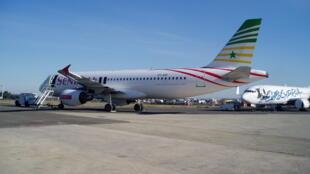 Un avion de la compagnie Sénégal Airlines.