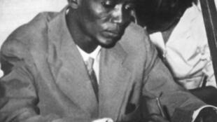 Djibo Bakary, homme politique du Niger et leader du mouvement Sawaba (archive Keystone-France).