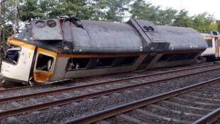 Acidente de trem na Espanha