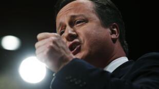 El premier británico, David Cameron.
