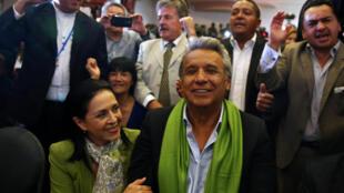 Lenin Moreno, Quito, 2 de abril de 2017.