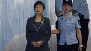 Park Geun-hye, ex-Presidente da Coreia do Sul.