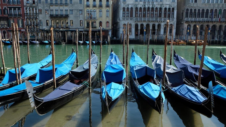 Вода в Венеции очистилась из-за карантина