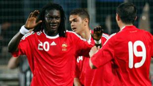 French international striker Bafetimbi Gomis