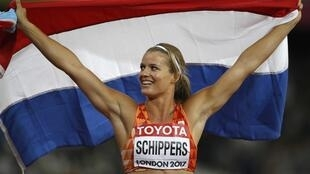 Dafne Schippers registered the season's fastest time to win the women's 200m.