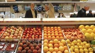 Le quartier de l'alimentation du futur, à l'exposition universelle de Milan, le 1er mai 2015.