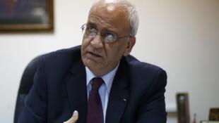 صائب عریقات دبیرکل سازمان آزادیبخش فلسطین