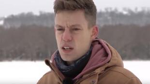 Le Youtubeur russe Iouri Doud (capture d'écran).