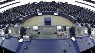 Plenário do Parlamento Europeu em Estrasburgo, no leste da França.