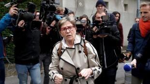 """La madre de Vincent Lambert, Viviane Lambert, se felicitó por """"una gran victoria""""."""