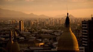 Dans la ville de San Miguel au sud de Santiago du Chili.