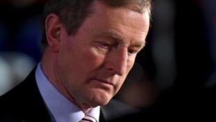 愛爾蘭總理恩達·肯尼。2016-02-27