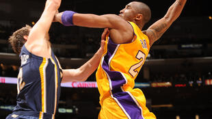 Kobe Bryant en 2010.