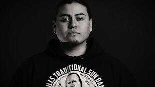 Hip hop performer Nataanii Means, Native American Nation Lakota