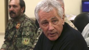 Ông Chuck Hagel sẽ trao đổi với các lãnh đạo Ba Lan về dự án lá chắn tên lửa và tình hình Ukraina - REUTERS /Mark Wilson